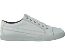 Weisse Diesel Sneaker D-SRING LOW