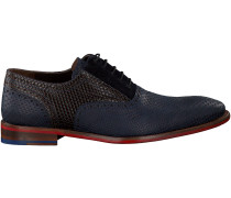 Blaue Floris van Bommel Business Schuhe 19103
