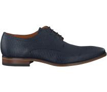 Blaue Van Lier Business Schuhe 6000