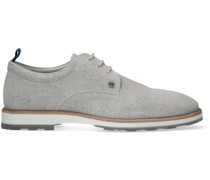 Rehab Business Schuhe Pozato Stripes 121a Grau Herren