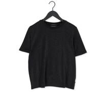 T-shirt Loose Fit T-shirt 163780 Schwarz Damen