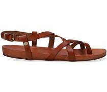Sandalen 170010166 Cognac Damen
