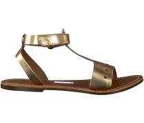 Goldene Kickers Sandalen DIZAINE