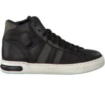 Schwarze Hip Sneaker H1207