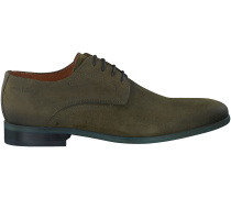 Grüne Van Lier Business Schuhe 5450