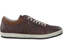Braune Van Lier Sneaker 7280