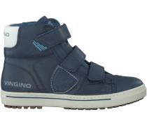 Blaue Vingino Sneaker DAVE VELCRO