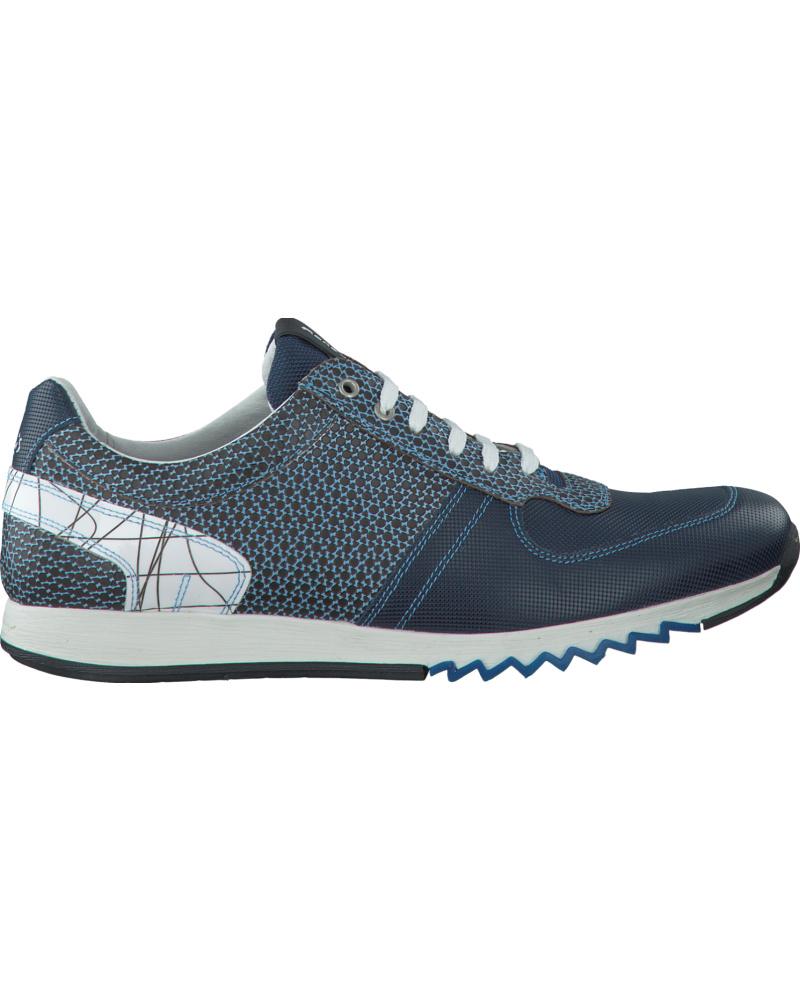 floris van bommel herren blaue floris van bommel sneaker 16127 reduziert. Black Bedroom Furniture Sets. Home Design Ideas