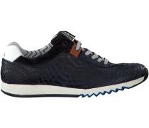 Blaue Floris van Bommel Sneaker 16219