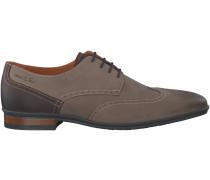 Taupe Van Lier Business Schuhe 4368