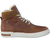 Cognac Hip Boots H2166