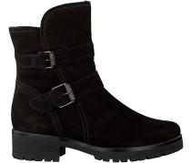 Schwarze Gabor Stiefel 093