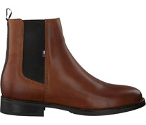 Tommy Hilfiger Chelsea Boots Essential Dressed Cognac Damen