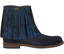 Blaue Clic Kurzstiefel CL9016