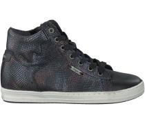 Schwarze Vingino Sneaker TORNEO MID