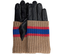 Becksondergaard Handschuhe Glitsa Glove Schwarz Damen