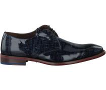 Blaue Floris van Bommel Business Schuhe 14465