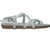 Weiße Fred de la Bretoniere Sandaletten 304031