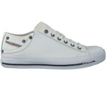 Weiße Diesel Sneaker MAGNETE EXPOSURE IV LOW