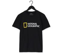 T-shirt Unisex T-shirt With Big Logo Schwarz Herren