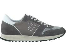 Graue Trussardi Jeans Sneaker 77S064