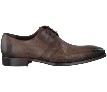 Braune Greve Business Schuhe 4122
