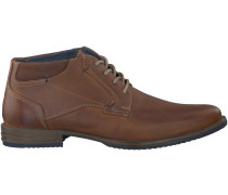 Braune Omoda Business Schuhe 76052