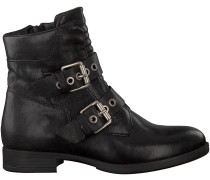 Schwarze Mjus Biker Boots 650233