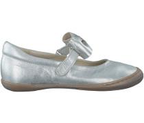 Silberne Clic! Ballerinas 9138