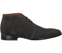 Graue Van Lier Business Schuhe 6001