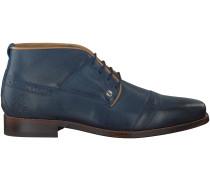 Blaue Rehab Business Schuhe LECTOR