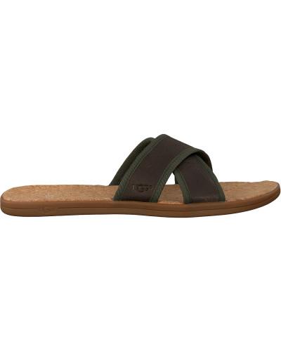 Green UGG Shoe Seaside Slide