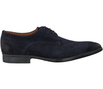 Blaue Van Lier Business Schuhe 6110