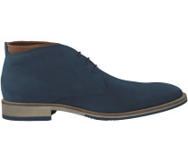 Blaue Greve Business Schuhe MS3049