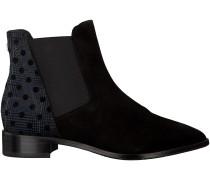 Schwarze Floris van Bommel Chelsea Boots 85191