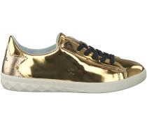 Goldene Diesel Sneaker Y01448