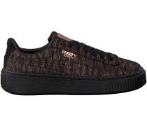 Bronze Puma Sneaker BASKET PLATFORM VR