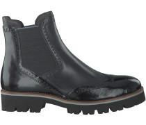 Schwarze Maripé Chelsea Boots 23341