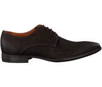 Braune Van Lier Business Schuhe 96050