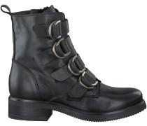 Schwarze Omoda Stiefel P14317