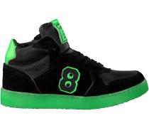 Schwarze Hip Sneaker H1705