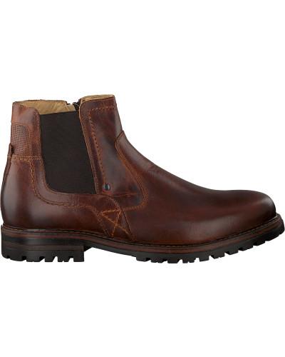 Cognacfarbene Omoda Chelsea Boots 710060