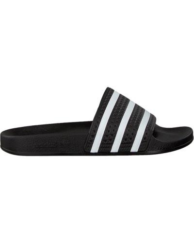 Schwarze Adidas Pantolette Adilette Dames