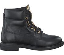 Schwarze Nubikk Boots ZOE ZIPPER
