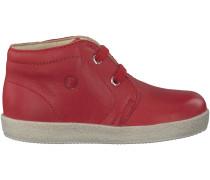 Rote Falcotto Babyschuhe 1195
