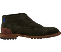 Grüne Floris van Bommel Ankle Boots 10907