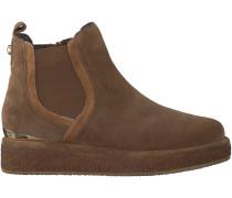 Cognac Alma en Pena Chelsea Boots 389