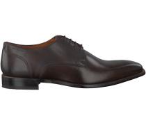 Braune Van Lier Business Schuhe 4170