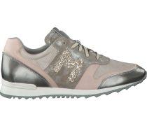 Beige Maripé Sneaker 22497