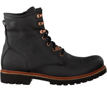 Schwarze Panama Jack Ankle Boots BARKLEY